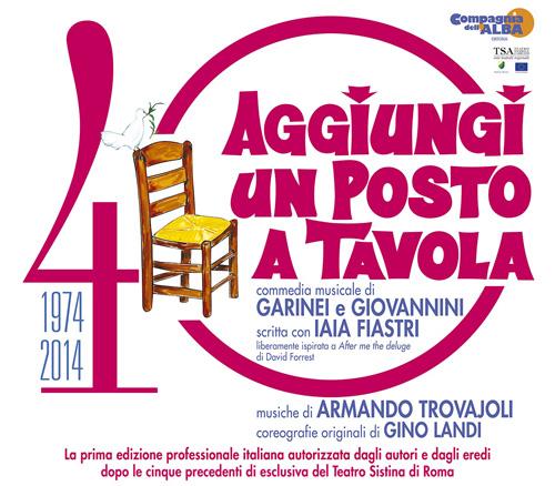Aggiungi un posto a tavola spettacoli il sito italiano del musical - Aggiungi un posto a tavola musical ...