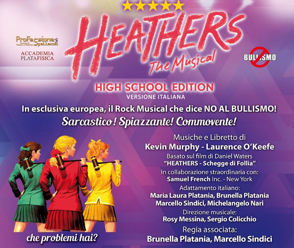 FOTOSCATTO: Heathers the musical