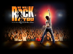 "Arriva in italia il musical ""We Will Rock You"""