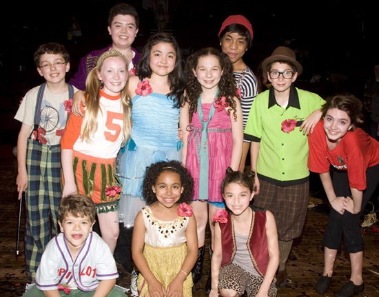 """Il cast del 2032 di """"Godspell"""" (fotro di Monica Simoes)"""