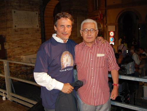 Cesare Bocci e Saverio Marconi