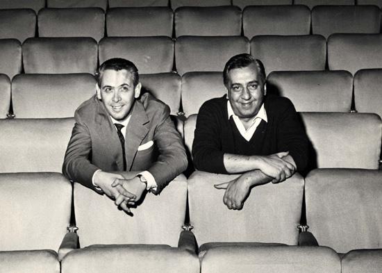 Pietro Garinei e Sandro Giovannini