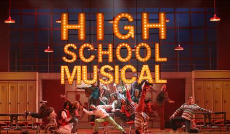 """Una foto di scena da """"High School Musical"""""""