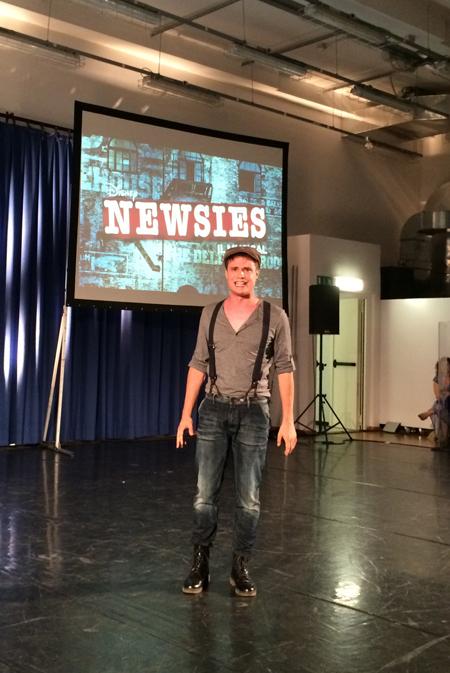 Lo show-case di Newsies