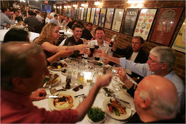 Il ristorante Joe Allen a Manhattan