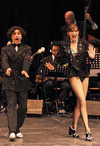 Cesare Vangeli e Veronica Maya