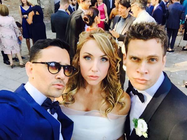 Alice e Claudio sposi