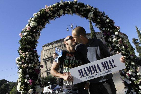 L'arco di Mamma Mia!