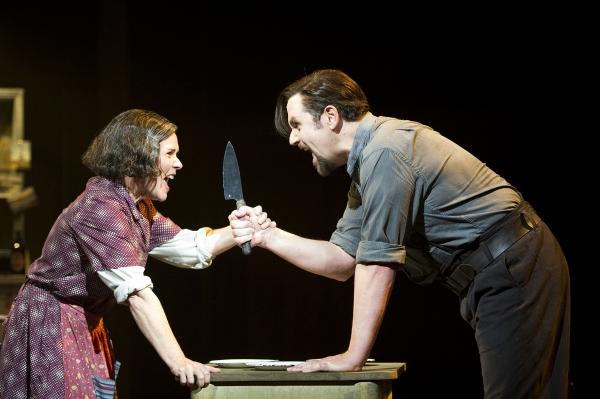 Imelda Staunton e Michael Ball in Sweeney Todd