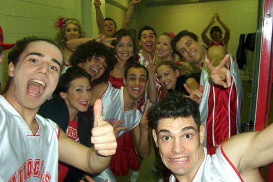 "Il cast di ""High School Musical""al Mediolanum Forum"