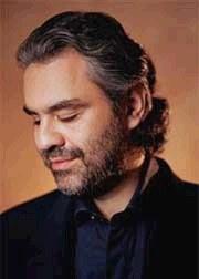 Andrea Bocelli, unico artista italiano presente al concerto