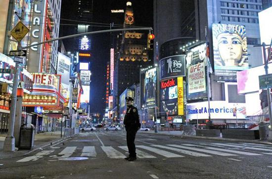 Times Square evacuta per allarme bomba l'1 maggio 2010