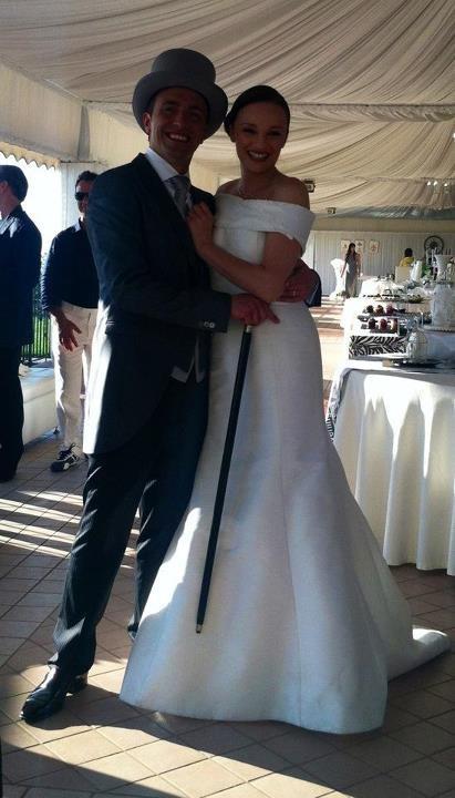 Davide Calabrese e Alberta Izzo sposi