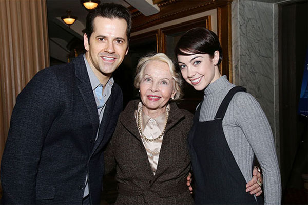 Lesli Caron a Broadway