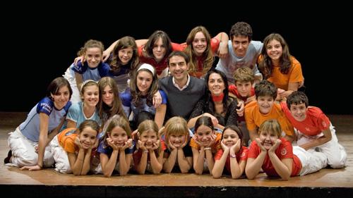 """Il cast del musical """"Il Mondo di Annah"""""""