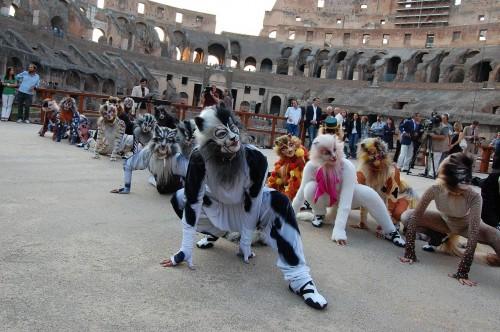 Il cast di CATS al Colosseo