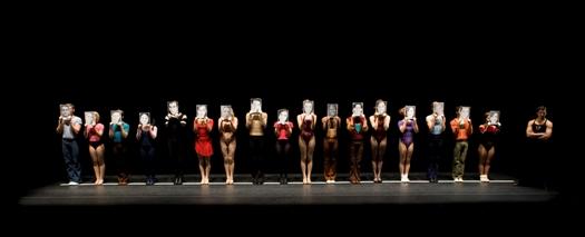 """Una foto di repertorio di """"A Chorus Line"""""""