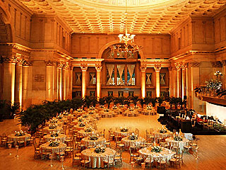 La sala del Cipriani Wall Street