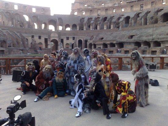 Cast al Colosseo