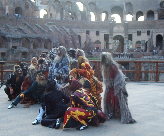 Cats al Colosseo