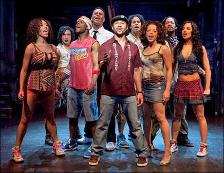 "Una scena da ""In The Heights"" con Corbin Bleu"