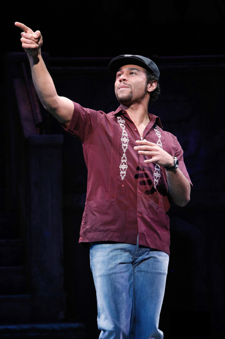 "Corbin Bleu nel musical ""In The Heights"" a Broadway"