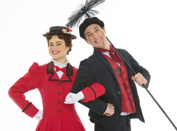 Mary Poppins e Bert