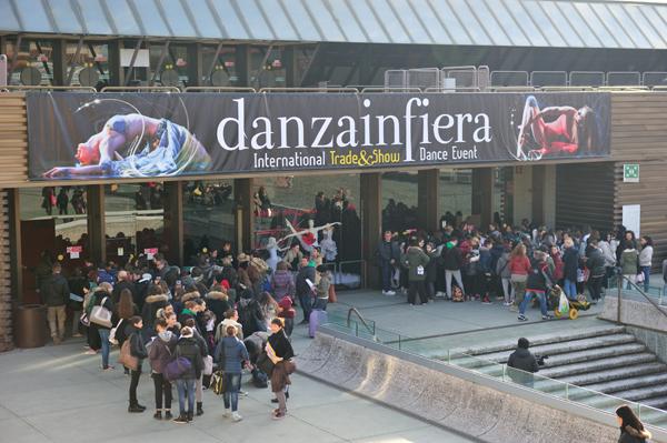 L'ingresso di Danzainfiera