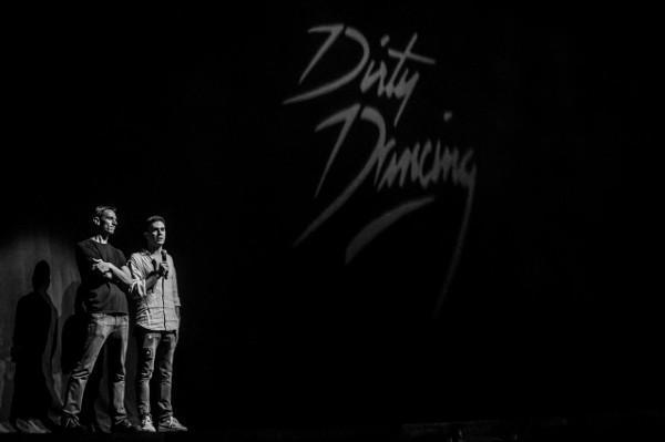 Federico Bellone alla presentazione del musical a Città del Messico