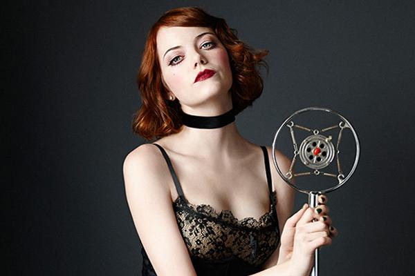 "Emma Stone in ""Cabaret"""