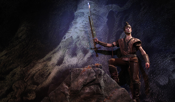 Dal set di Excalibur