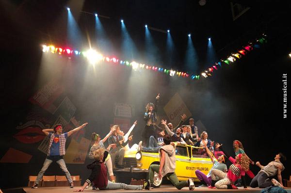 La scena del musical