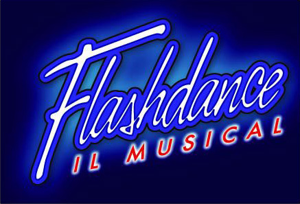 "Il logo italiano di ""Flashdance"""
