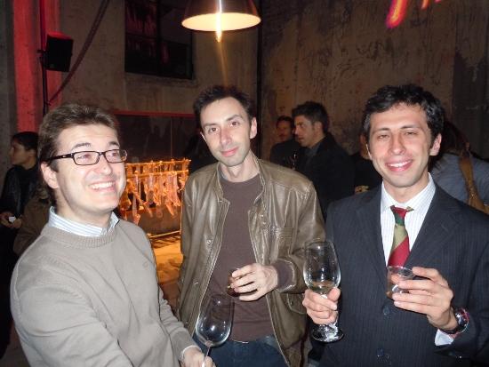 Simone Manfredini, Marco Iacomelli, Franco Travaglio