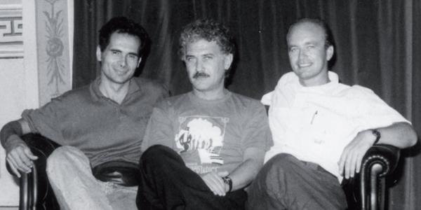 Da sinistra Tommaso Paolucci, Saverio Marconi e Michele Renzullo