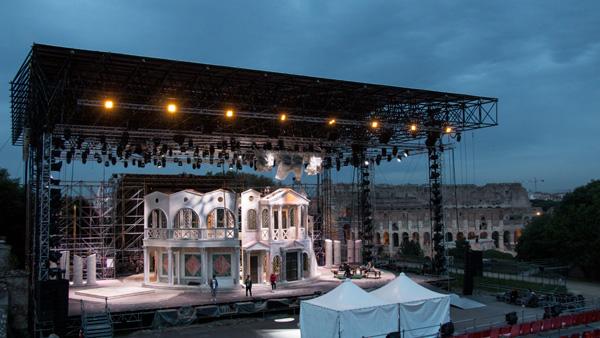 Divo Nerone - il palco