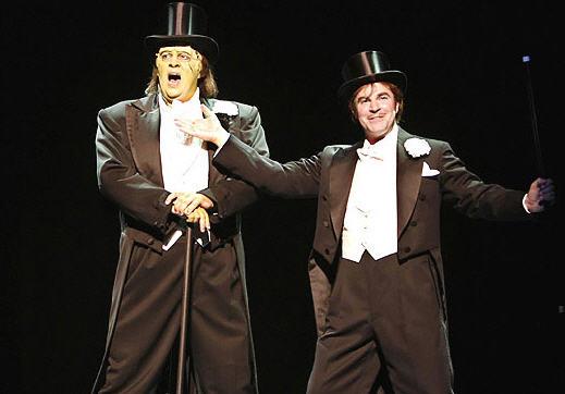 Shuler Hensley e Roger Bart