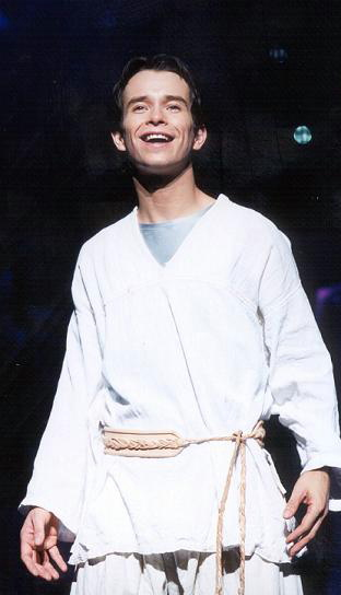 "Stephen Gately in ""Joseph"""