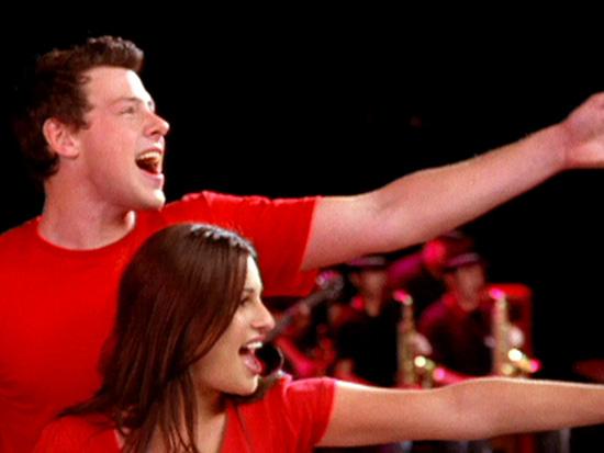 """Una foto da """"Glee"""""""