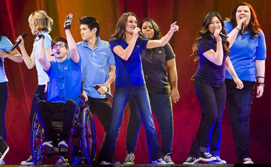 Una foto da Glee Live a Londra