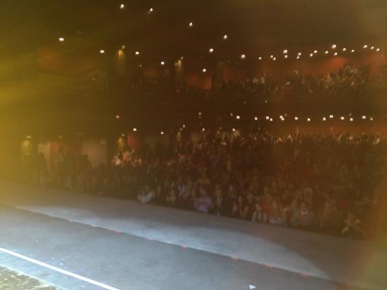 Il pubblico del Brancaccio