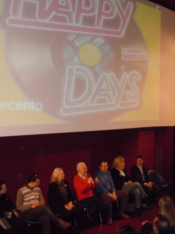 "La conferenza stampa di ""Happy Days"" a Milano"