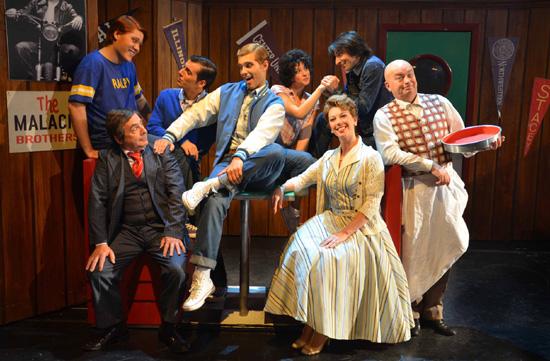Una foto di scena dello spettacolo (Foto S.La Porta)