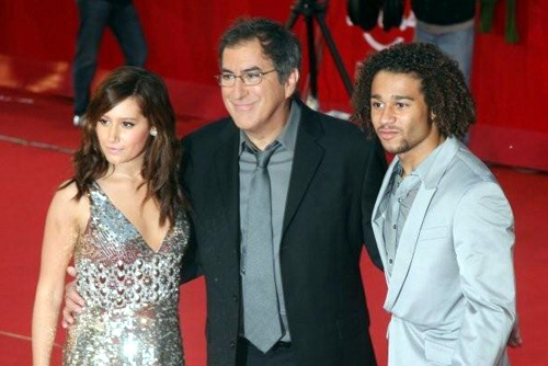Ashley Tisdale, Kenny Ortega e Corbin Bleu