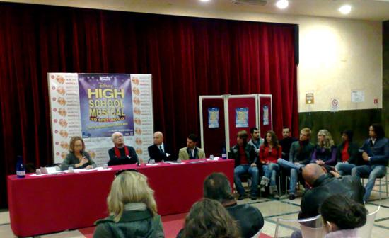 La conferenza stampa al Brancaccio