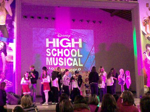 """Il cast di """"High School Musical - Lo Spettacolo"""""""