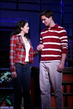 Una scena dalla versione teatrale USA di 'High School Musical'