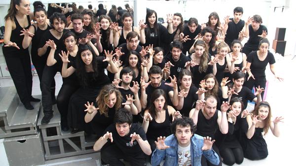 i ragazzi della Bernstein School of Musical Theater