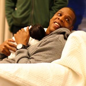 Jay Z con Blue Ivy