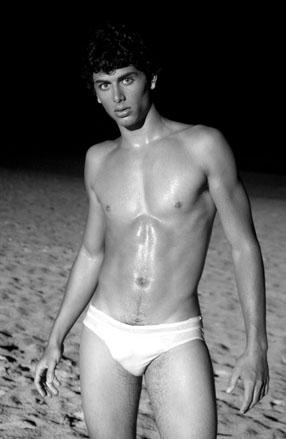 Il modello e attore brasiliano Jesus Luz